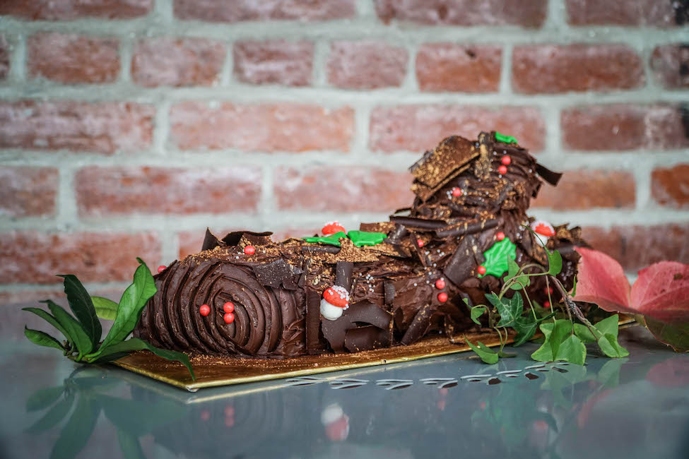 Sweetie Pies Bakery Christmas Yulelog