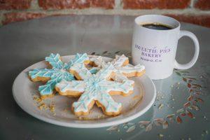 Sweetie Pies Bakery Christmas Snowflake Cookies