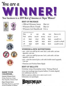 Bohemian 2019 Best of Winner!